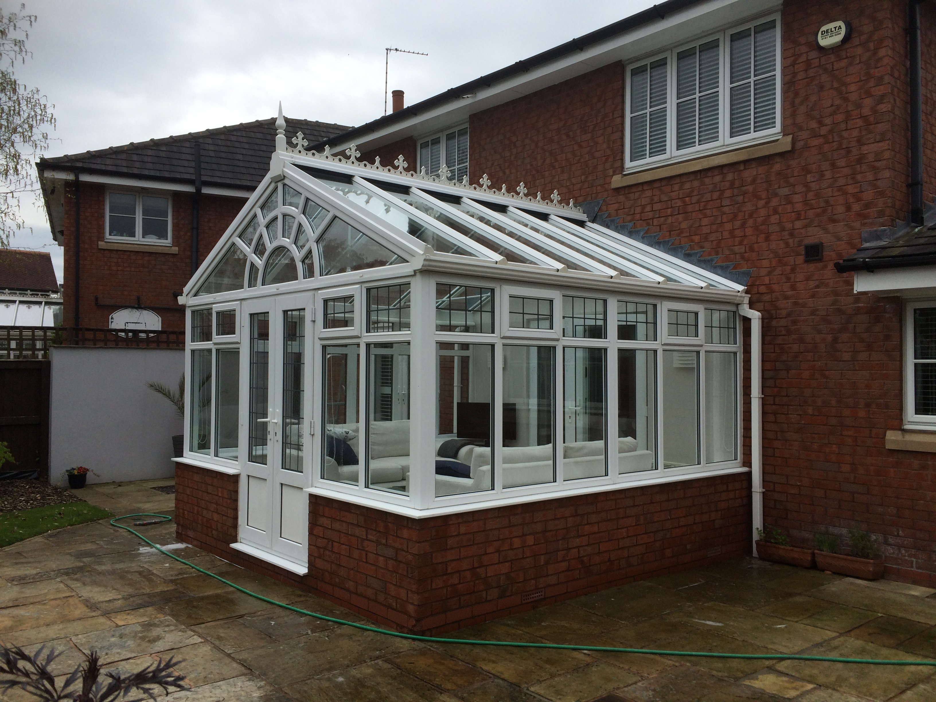 how to clean conservatory windows